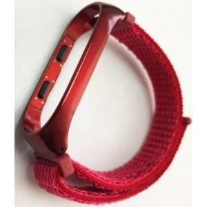 Ремешок Xiaomi Mi Band 3/4 Nylon NEW Sport Red