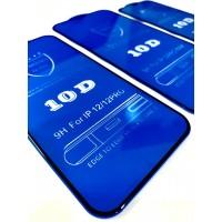 """Защитное стекло 10D for iPhone 12 PRO MAX (6,7"""") black тех упаковка"""