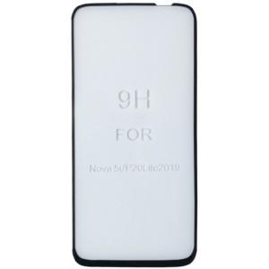 стекло 5D Strong for Huawei Nova 5i black тех. пак.