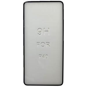стекло 5D Strong for Huawei P40 black тех. пак.