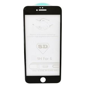 стекло 5D Strong for iPhone 6 black тех. пак.