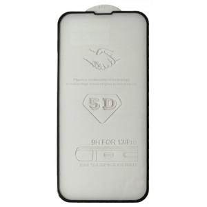 стекло 5D Strong for iPhone 13 / 13 Pro black тех. пак.