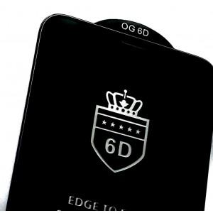 Защитное стекло 6D EDGE TO EDGE for Xiaomi Redmi Note 8T Black тех упаковка
