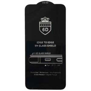 Защитное стекло 6D EDGE TO EDGE for iPhone XR/11 Black тех упаковка
