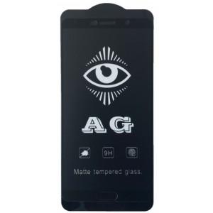 защитное стекло AG for Huawei Mate 10 matte black тех упак.