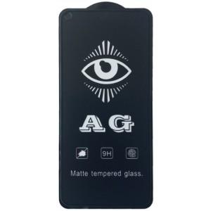 защитное стекло AG for Huawei Nova 5T matte black тех упак.