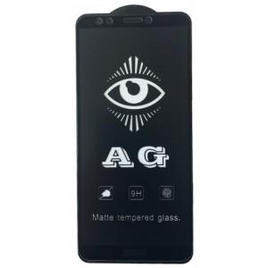 защитное стекло AG for Huawei Y7 2018 matte black тех упак.