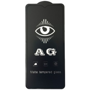 защитное стекло AG for OPPO A31 matte black тех упак.