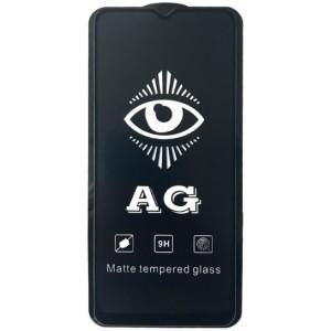 защитное стекло AG for Realme 5 matte black тех упак.