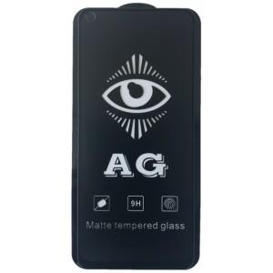 защитное стекло AG for Realme 6/6S matte black тех упак.