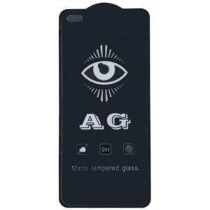 защитное стекло AG for Realme 6 Pro matte black тех упак.