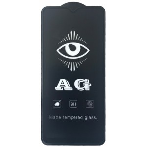 защитное стекло AG for Samsung A207 (A20S) matte black тех упак.