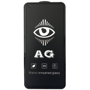 защитное стекло AG for Samsung A215 (A21)/A217 (A21S) matte black тех упак.
