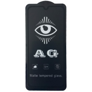 защитное стекло AG for Samsung A405 (A40) matte black тех упак.