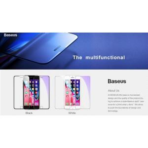Baseus SGAPIPH8P-WA02 Full-screen (cellular dust prevention) for iP 7Plus/8Plus White