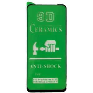 Защитное стекло CERAMIC OPPO Reno 2 Z Black тех упаковка