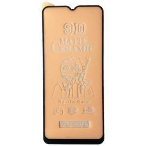Защитное стекло Ceramic MATTE OPPO A5 2020 Black тех упак
