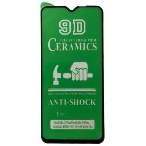 Защитное стекло CERAMIC Realmi XT Black тех упаковка