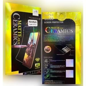 Защитное стекло Ceramic MATTE Huawei P40 Black Retail Box