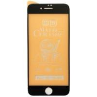 Защитное стекло Ceramic MATTE iPhone 7/8 Black Retail Box