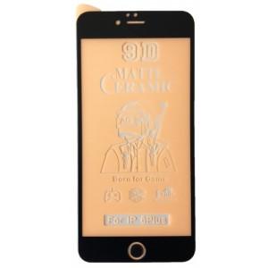 Защитное стекло Ceramic MATTE iPhone 6+/6S+ Black тех упак