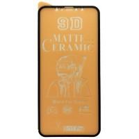 Защитное стекло Ceramic MATTE iPhone X/XS/11 Pro Black тех упак