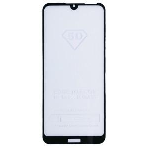 защитное стекло Full Glue Huawei Y5 2019 black тех упаковка