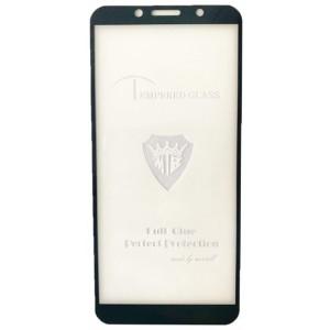 защитное стекло Full Glue Huawei Y5P 2020 black тех упаковка