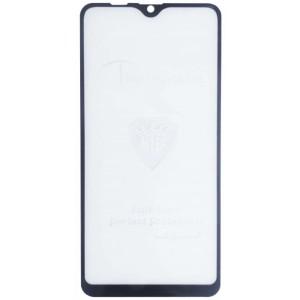 защитное стекло Full Glue Realme C2 black тех упаковка