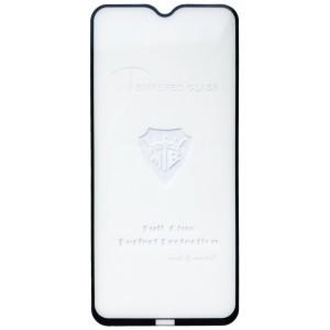 защитное стекло Full Glue Xiaomi Redmi Note 8 black тех упаковка