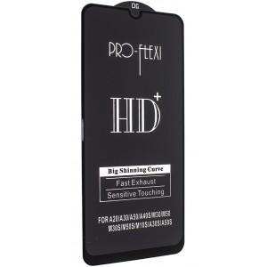 Защитное стекло PRO-FLEXI HD+ for Samsung M30/A20/A30/A50/A40S/M50/M30S/M50S/M10S Black тех упаковка