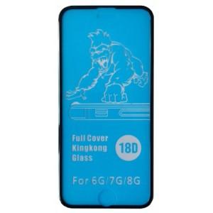 Защитное стекло King Kong iPhone 6/6S black