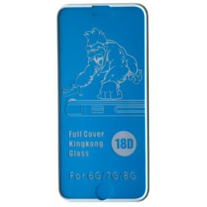 Защитное стекло King Kong iPhone 6/6S white