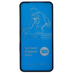 Защитное стекло King Kong iPhone XR/ 11 black