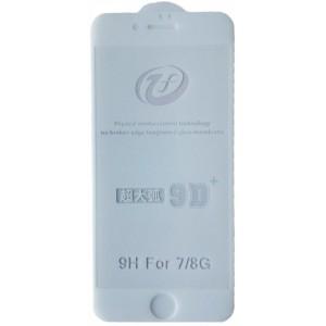 Защитное стекло iPhone 9D+ iPhone 7/8 white тех упаковка