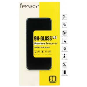 Защитное стекло iPaky Huawei P Smart 2019 black