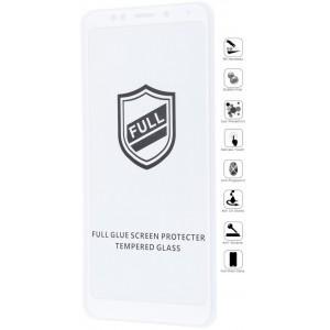 Защитное стекло iPaky Samsung J4 2018 white
