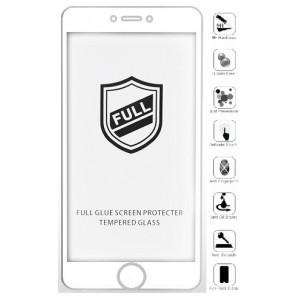 Защитное стекло iPaky iPhone 6/6S white