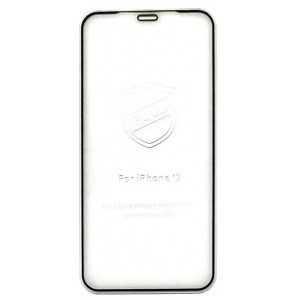Защитное стекло iPaky iPhone 12 mini (5.4'') black