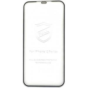 Защитное стекло iPaky iPhone 12 Pro Max (6.7'') black