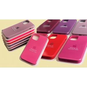 Silicone Case Full for iPhone 12 mini ( 3) blue