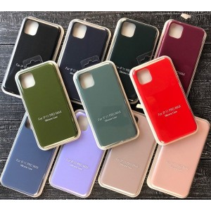 GRAND Full Silicone Case for iPhone 11 (19) pink sand