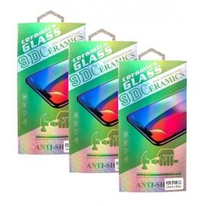 Защитное стекло CERAMIC Huawei Honor 8X Black Retail Box