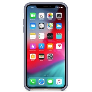 Silicone case for iPhone 11 Pro Max ( 7) lavander